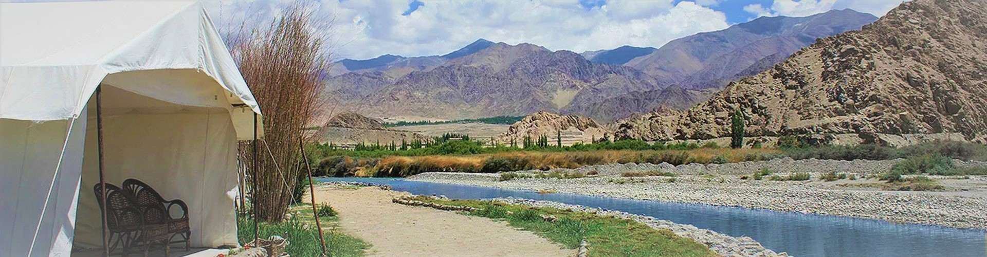 The Indus River Camp
